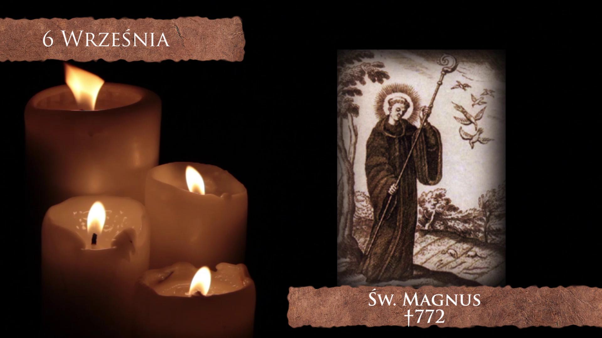 Św. Magnus - apostoł Szwajcarii i Niemiec